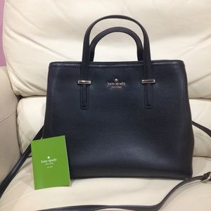 Kate Spade Black Satchel Purse Bag